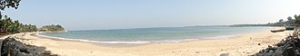 Malvan - Image: Chivla Beach Malvan, India