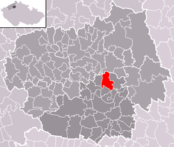 Location of Chodouny