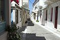 Chora of Andros, main street of the old town,090598.jpg