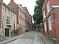 Christ's Hospital Terrace - Steep Hill - geograph.org.uk - 1484219.jpg