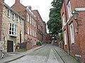 Christ's Hospital Terrace - Steep Hill - geograph.org.uk - 1484219.jpg