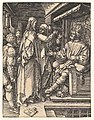 Christ Before Herod, from The Small Passion MET DP820451.jpg