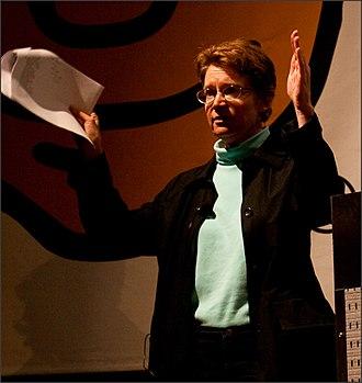 Christine Peterson - Christine Peterson speaking at Gnomedex in 2009