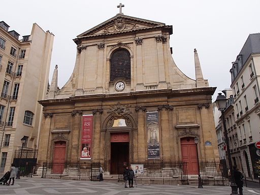 Church of Notre-Dame-des-Victoires, Paris 24 November 2012