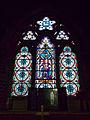 Church of the Holy Trinity - chancel east window - East Grimstead, Wiltshire, England.jpg