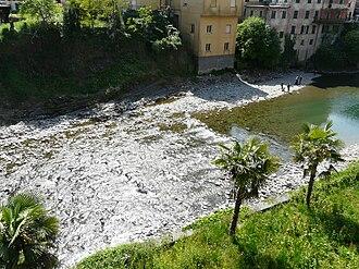 Lavagna (river) - The river in Cicagna