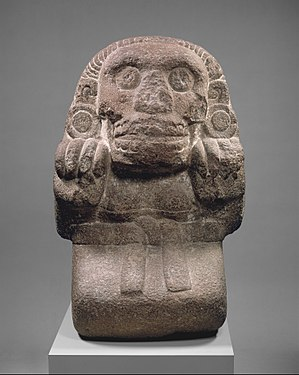 Cihuateteo - A figure of a cihuateotl, the spirit of an Aztec woman who died in childbirth.
