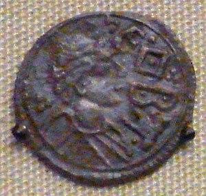 Cynethryth - Coin of Cinethryth, wife of Offa