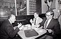 City Councilor Thomas Menino with Mayor Raymond Flynn and New York Mayor Ed Koch (15488504170).jpg