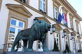 City Hall with lion by Auguste Trémont - Luxembourg City - DSC06073.JPG