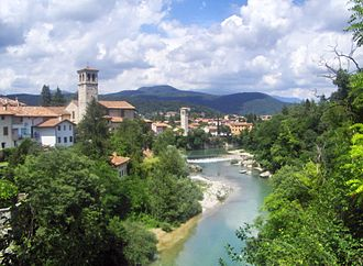 Friuli - Cividale on Natisone river