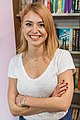 Clara Henry Hedemora bokhandel 2015.jpg