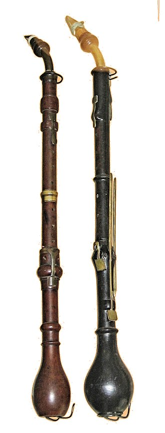 Clarinette d'amour - Two clarinettes d'amour.