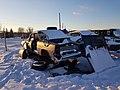 Classic Pontiac in the junkyard - Flickr - dave 7.jpg