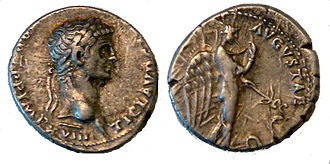 Claudius - Claudius issued this denarius type to emphasize his clemency after Caligula's assassination. The depiction of the goddess Pax-Nemesis, representing subdued vengeance, would be used on the coins of many later emperors.
