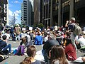 Climate rally sitting on William Street.jpg