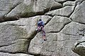 Climber at Vixen Tor - geograph.org.uk - 37730.jpg