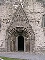 Clonfert Cathedral, west door - geograph.org.uk - 1964350.jpg