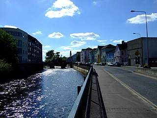 Clonmel Town in Munster, Ireland