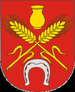 Kastsyukovichy - Image: Coat of Arms of Kasciukovičy, Belarus