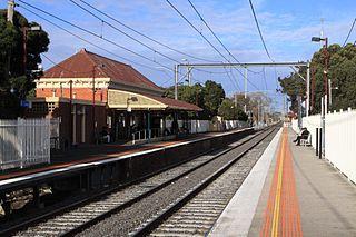 Coburg railway station railway station in Coburg, Melbourne, Victoria, Australia