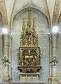 Collégiale Saint-Martin - intérieur - retable de la Sainte Parenté de Jésus avec starburst (Colmar).jpg