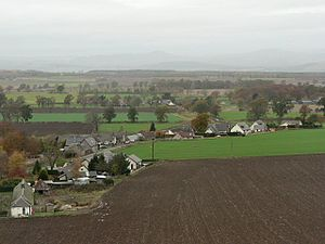 Collace -  Collace from the path to Dunsinane Hill