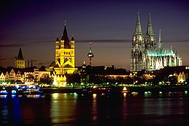Köln in Tjuusterenge