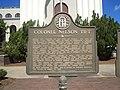 Colonel Nelson Tift Historical Marker.JPG