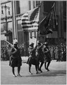 Colors of The Famous 369th Infantry in Parade in New York City. Colors of the famous 369th Infantry . . . - NARA - 533494.tif