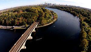 Head of the Schuylkill Regatta - Columbia Bridge turn