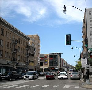 Columbia Heights (Washington, D.C.) - Looking north on 14th Street NW in Columbia Heights