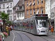 Straßenbahn in der Salzstraße