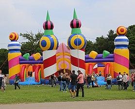 Common people Bouncy castle.JPG