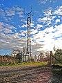Communication mast on Ardbeck Hill Peterculter - geograph.org.uk - 628550.jpg
