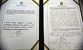 Compromisso constitucional e termo de posse presidencial Brasil 1jan2007.jpg