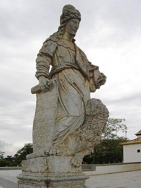 Ficheiro:Congonhas sanctuary of Bom Jesus prophet Daniel.jpg