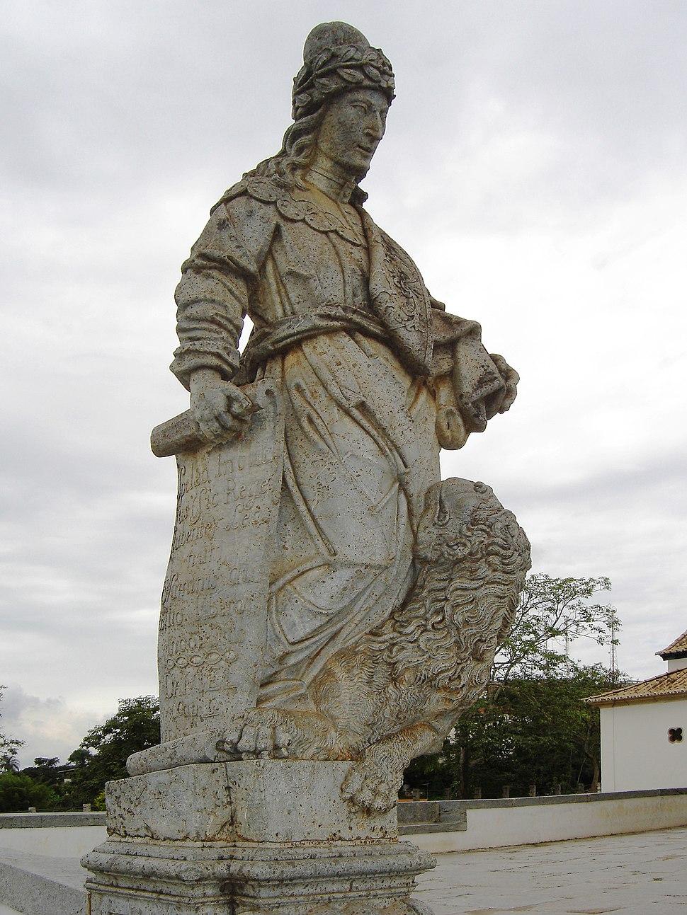 Congonhas sanctuary of Bom Jesus prophet Daniel
