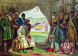 Sviatopolk II of Kiev - Image: Congress in Dolobsk 1103