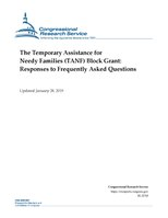 Congressional Research Service Report RL32760 - The Temporary Assistance for Needy Families (TANF) Block Grant - Responses to Frequently Asked Questions.pdf