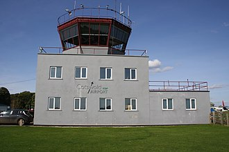 Cotswold Airport - Cotswold Airport control tower