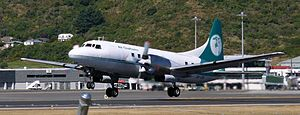 Convair 580 (Air Chathams) Wellington (18).jpg