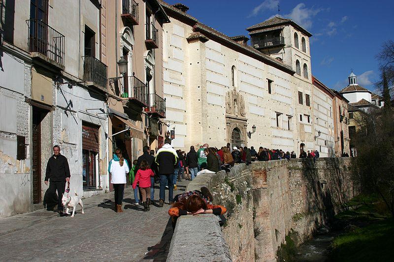 File:Convent of Santa Catalina de Zafra - Granada.JPG