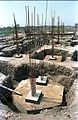 Convention Centre Complex Under Construction - Science City - Calcutta 1994-May 007.JPG