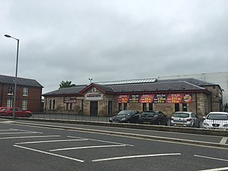 Cookstown railway station (NCC)
