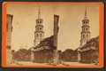 Corner of Broad and Meeting Streets, showing St. Michael's Church, Charleston, S.C, by Havens, O. Pierre, 1838-1912.png