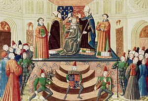 Coronation of the British monarch - Coronation of Henry IV of England at Westminster in 1399