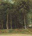 Corot - Fontainebleau - Route du Bras Bréau, R262, circa 1830-35.jpg