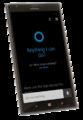 Cortana start screen (cyan-black).png