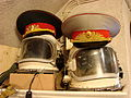 Cosmonaut Helmets and Military Headgear - Souvenir Shop at Citadella - Buda Side - Budapest - Hungary.jpg